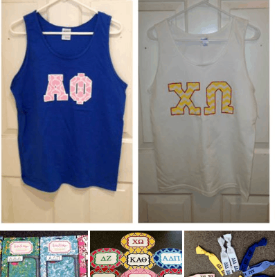 Sorority Must Haves @ Peggy's Gifts & Accessories