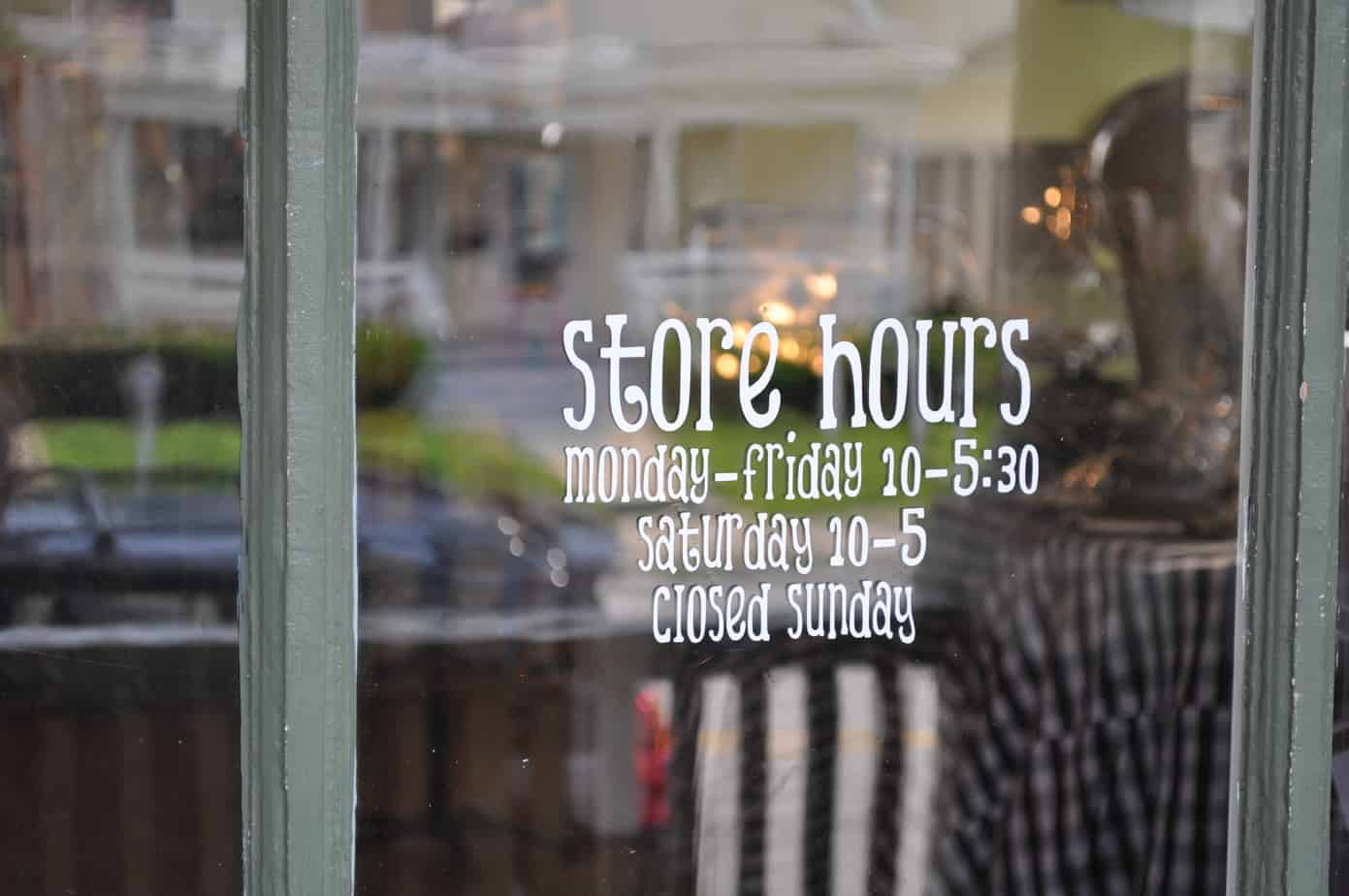 Take a Virtual Tour of Peggy's Gifts & Accessories store on Clay Ave.